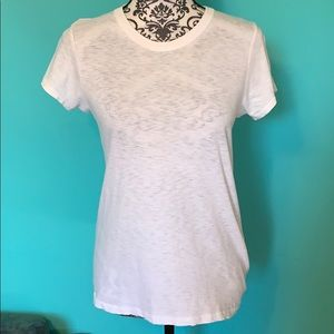 Tag & Bone Stretch Washed Look Sheer T shirt S